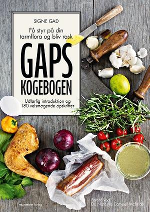 Nu kan du købe GAPS kogebogen!